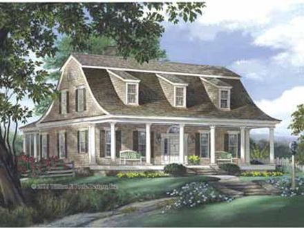 Colonial Style Homes Dutch Colonial Style House Plans