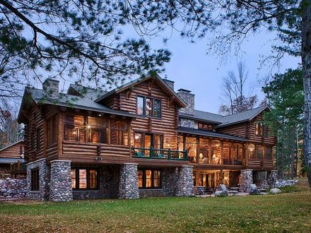 Luxury Log Home Floor Plans Biggest Luxury Log Home