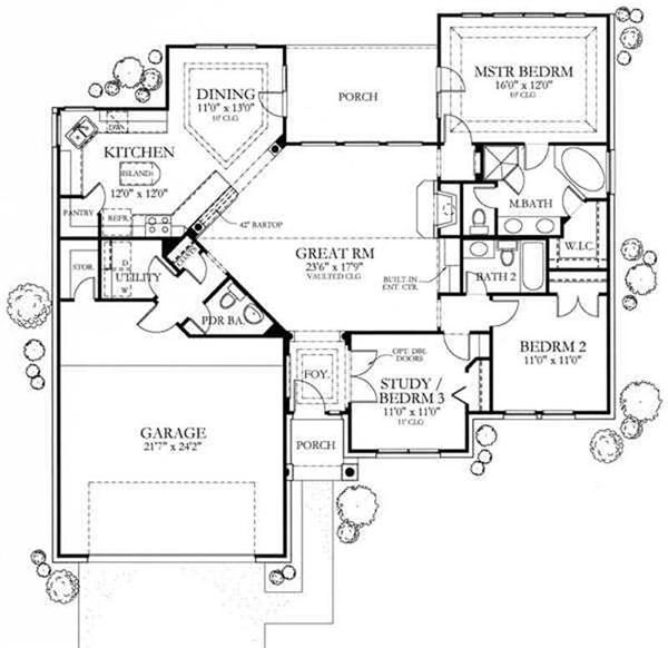 3 bedroom house 1500 sq ft house floor plans arts and for 1500 square foot ranch house plans