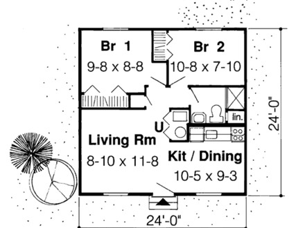 Small Cabin Floor Plans Rustic Cabin Plans