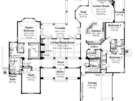 Small hacienda style homes mexican hacienda style ranch for Colonial ranch house plans