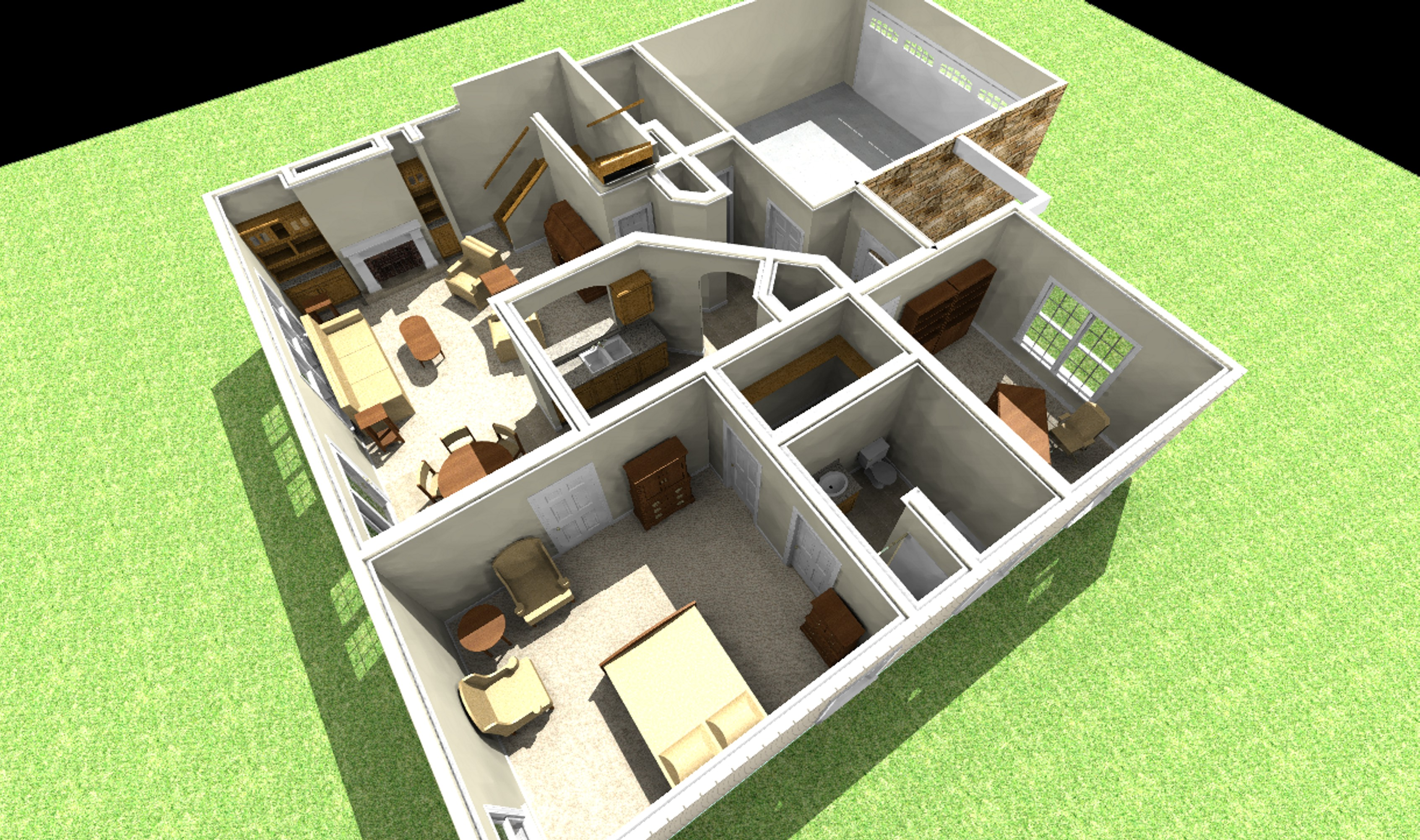Free home plans and designs free tiny house plans for Customized floor plans online free