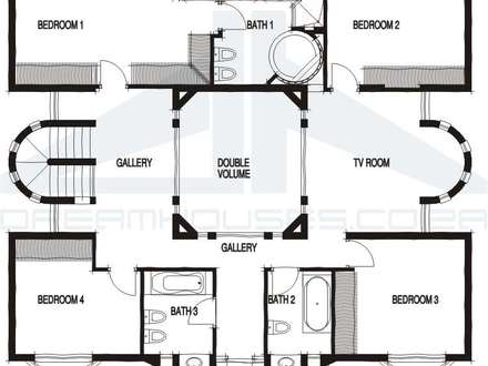 House Plan Design with Two Sthory House Plans and Designs
