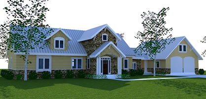Simple farmhouse house plans farmhouse open floor plan for Simple farmhouse floor plans