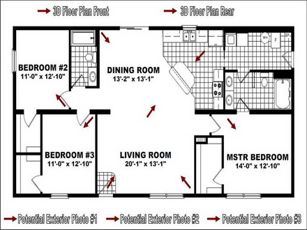 Small Modular Homes Floor Plans Modular Home Floor Plans
