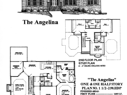One and a half story house plans with porches one and a for Reverse 1 5 story house plans