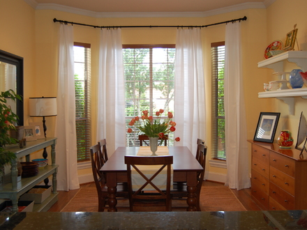 Bay Window Curtain Treatments Bay Window Treatment Ideas