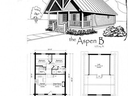 Best Flooring for a Cabin Small Cabin House Floor Plans