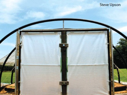 Homemade High Tunnel High Tunnel Hoop House Construction