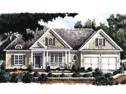 Early american house floor plans early american home plans for Early american house styles
