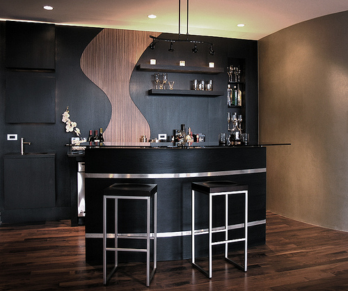 Home Bar Designs And Layouts: Modern Home Bar Design Home Bar Designs And Layouts