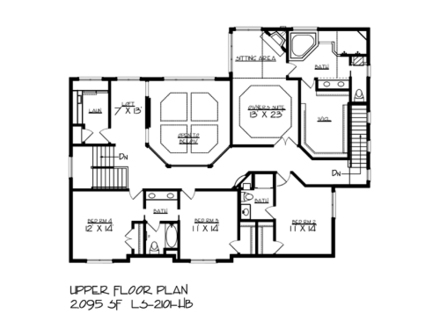 Birds eye view of house plans with rooms birds eye view of for Lake house floor plans view