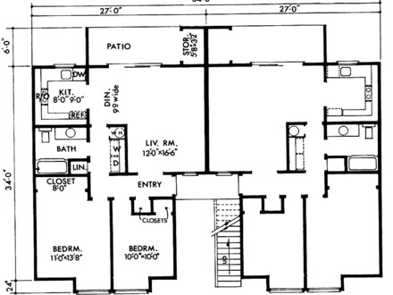 Plan For 24 Feet By 60 Feet Plot  Plot Size160 Square Yards  Plan Code 1313 together with Free House Plans Designs South Africa also The waltons house plans further 182ca159cb61afbf One Story House Plans One Story House Plans With Open Concept in addition House Plans. on 1 storey house floor plans