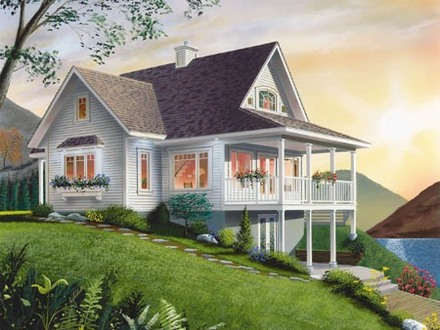 Small Lake Cottage House Plans Small Cottage Floor Plans