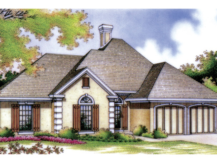 Ranch House Plans with Basements Ranch Home Plans with Stucco