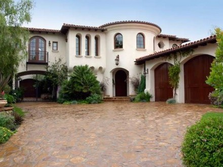 Small spanish style homes spanish style home exterior for Small spanish style house plans