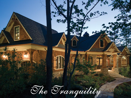 The Tranquility House Plan Luxury Rustic Mountain Nantahala House Plan Gallery