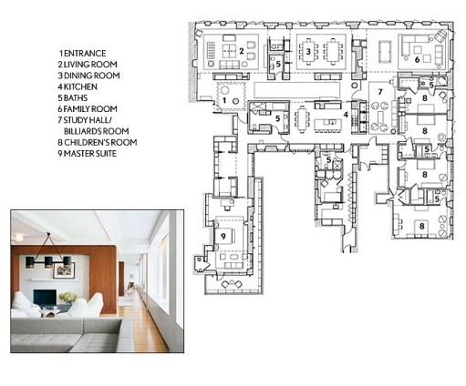 Architectural digest floor plans 3d house floor plans for Architectural digest home plans