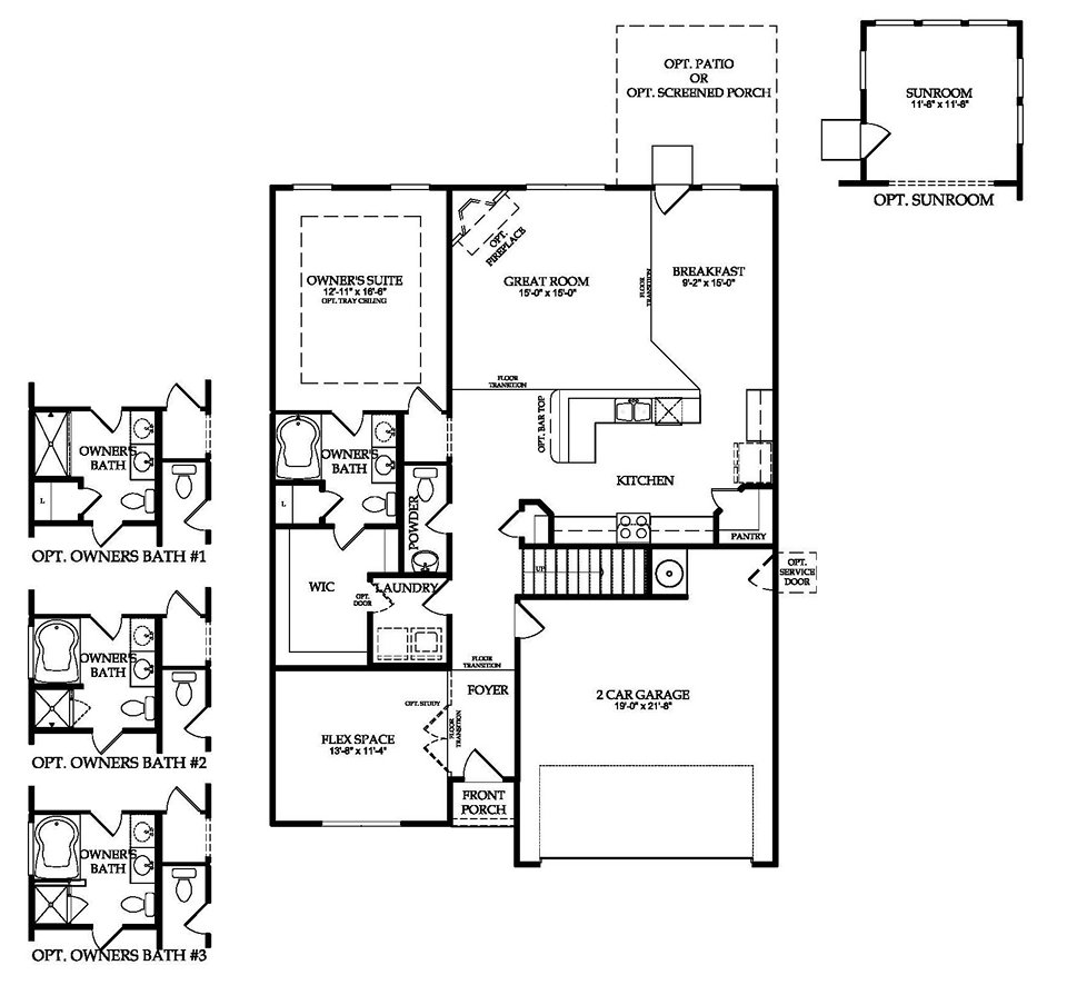 Charleston south carolina home floor plans isle of palms for Charleston style home floor plans