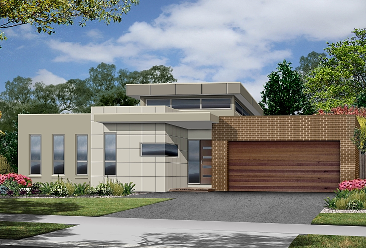 Modern Single Storey House Designs Modern Single Story Home Designs