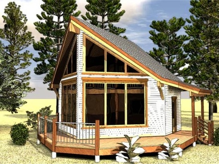 Cabin Small House Floor Plans Small Cabin House Plans with Loft