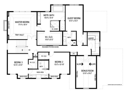 I Shaped House Plans Architectural House Floor Plans