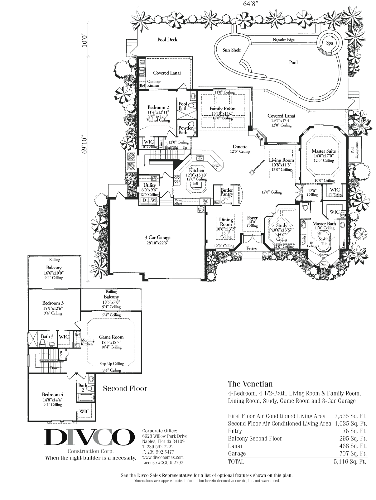 Luxury custom home builder floor plans small custom built for Custom home builder floor plans