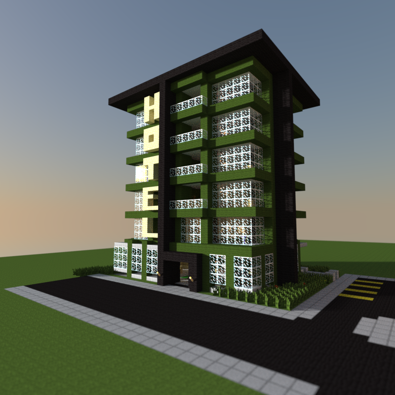 Minecraft Modern Buildings Minecraft City Buildings