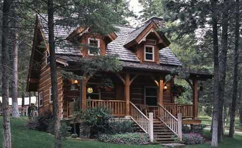 Small Log Cabin Plans Small Cabin Floor Plans