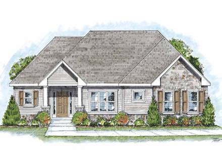 One Story Cottage House Plans Colonial Cottage Houses