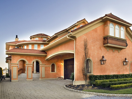 Mediterranean Style House Colors for Homes One Story Mediterranean House Plans