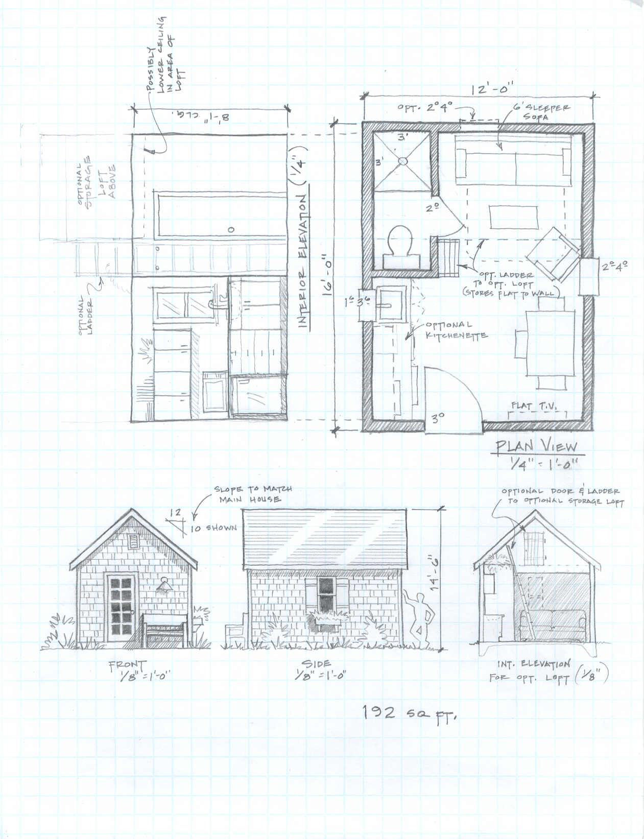 Small cabin building plans free small cabin plans tiny for Cabin construction plans
