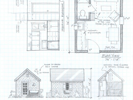 Unique small house plans tiny cottage house plans tiny for Free log cabin floor plans