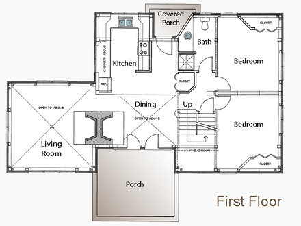 House Plans 20x30 House Floor Plans 30x30 Cabin Floor Plans Guest