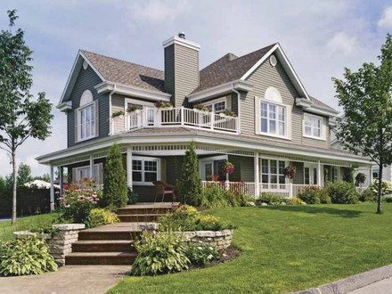 Country Home House Plans with Porches Country House Wrap around Porch
