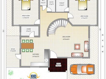 House Plans Designs India House Plans 6 Bedrooms Designs