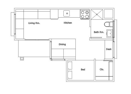 Simple floor plan software free free basic floor plans for Easy house drawing software