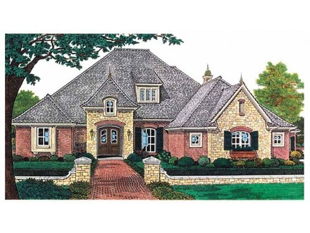 Eplans Chateau House Plan Elegant French Country Stylings 2590 Country House Plans with Porches