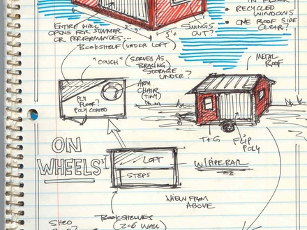Shed Roof Tiny House On Wheels Shed Roof Tiny House On Wheels Plans