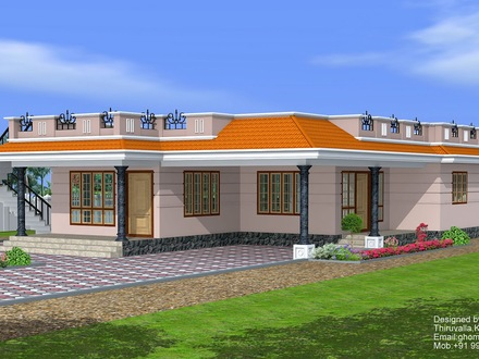 Single Story Exterior House Designs One Story Ranch House