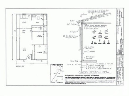 Small Cabin Floor Plans Steel Hunting Cabin Kits