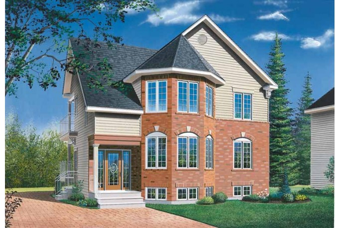 2 story house with front porch two story victorian house for Two story victorian house plans