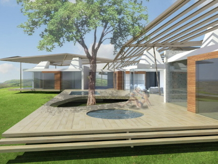 Beautiful One Story Houses Modern One Story House Plans