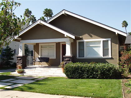 California Craftsman Bungalow Style Homes Old-Style Bungalow Home Plans