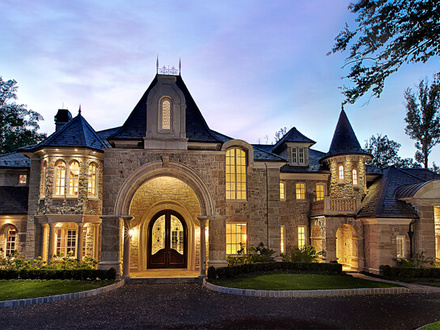 Luxury Castles Homes House Plans Big Beautiful Castle Homes