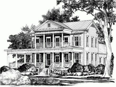 Farmhouse Southern Living House Plans Southern Living