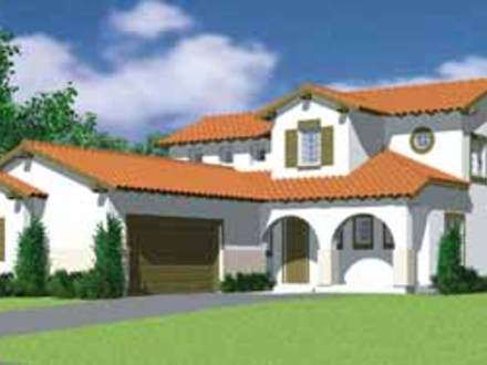 Spanish style homes house plans french style houses for Mission home plans