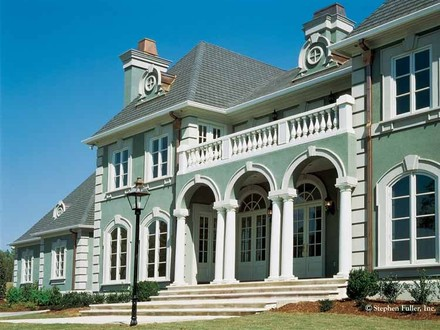 Italian Style House Neoclassical Style House