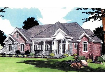 Luxury French Country Ranch House Plans French Country Homes