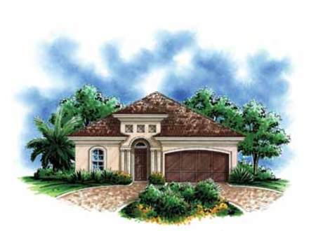 Small mediterranean style house plans spanish mediterranean house plans small mediterranean - Small spanish style house plans ...